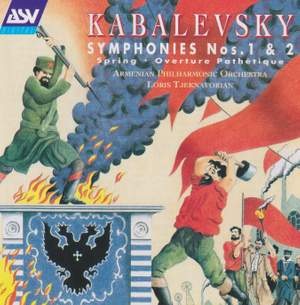 Kabalevsky: Symphonies 1 & 2 and other orchestral works