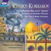 Rimsky Korsakov: Symphonies Nos. 1 & 2