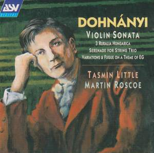 Dohnányi: Violin Sonata and other works