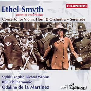 Smyth: Serenade in D & Concerto for violin, horn & orchestra