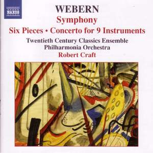 Webern: Symphony, Six Pieces, Concerto for 9 Instruments Product Image