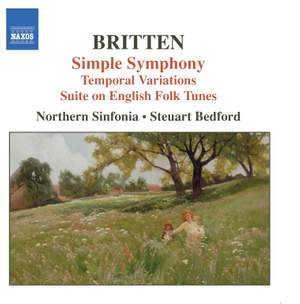 Britten: Simple Symphony, Temporal Variations & other works Product Image