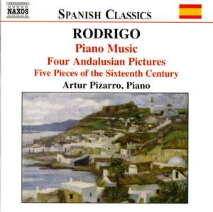 Rodrigo: Piano Music, Volume 1
