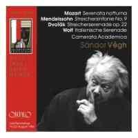 Sandor Végh conducts Mozart, Mendelssohn, Dvorak, Wolf