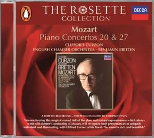 Mozart: Piano Concertos Nos. 20 & 27