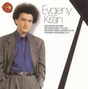 Evgeny Kissin plays Schumann, Beethoven and Bach/Busoni