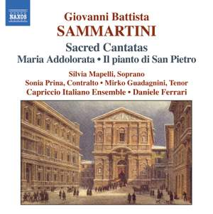 Giovanni Battista Sammartini - Sacred Cantatas