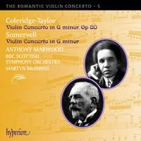 The Romantic Violin Concerto 5 - Coleridge-Taylor & Somervell