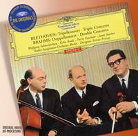 Beethoven: Triple Concerto & Brahms: Double Concerto
