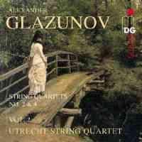 Glazunov: Complete String Quartets Volume 2