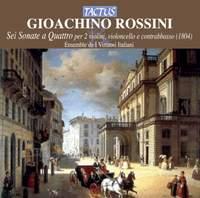 Rossini: Six sonatas for 2 violins, cello & double bass