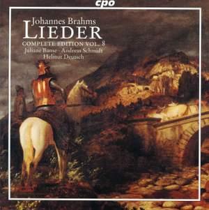 Brahms - Complete Lieder Edition Volume 8
