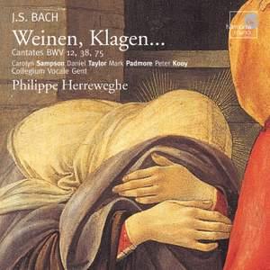 J S Bach - Weinen Klagen ... Product Image