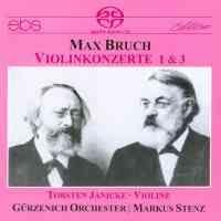 Bruch: Violin Concertos Nos. 1 & 3
