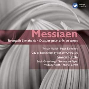 Messiaen: Turangalîla Symphony, Quatuor pour la fin du temps & Le merle noir