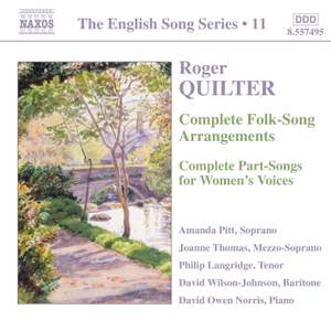The English Song Series Volume 11 - Roger Quilter 2 Product Image