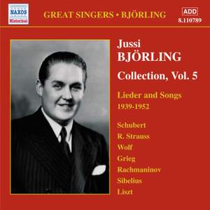 Jussi Björling Collection, Vol. 5