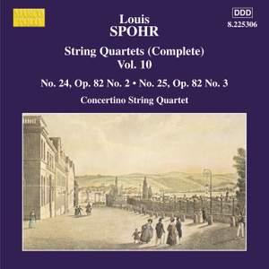 Louis Spohr: String Quartets, Volume 10