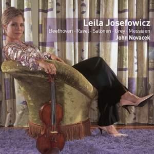 Leila Josefowicz in recital