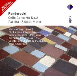 Penderecki: Cello Concerto No. 2, Partita & Stabat mater