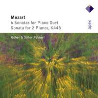 Mozart: Six Sonatas for piano duet & Sonata for Two Pianos K448