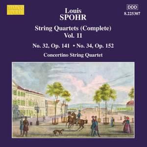 Louis Spohr: String Quartets, Volume 11