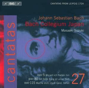 Bach - Cantatas Volume 27