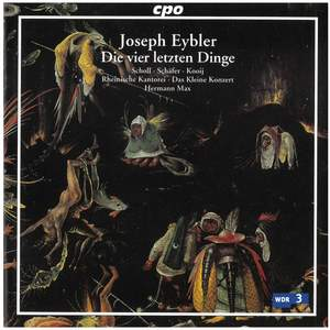Eybler: Die vier letzten Dinge (The Four Last Things) Product Image