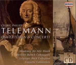Telemann - Overtures & Concerti