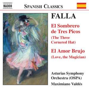 Manuel de Falla: El sombrero de tres picos, El Amor Brujo etc