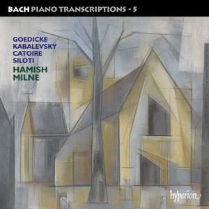 Bach - Piano Transcriptions Volume 5