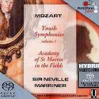 Mozart - Youth Symphonies Volume 1