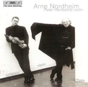 Arne Nordheim - Violin Music
