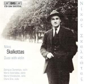 Skalkottas - Duos with Violin