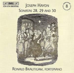 Haydn - Complete Solo Keyboard Music, Volume 8