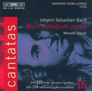 Bach - Cantatas Volume 16