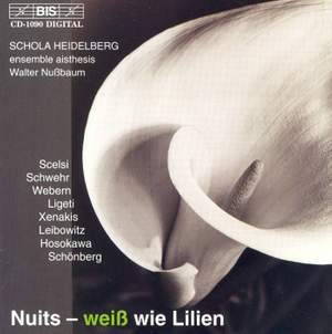 Nuits - weiß wie Lilien