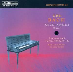 C P E Bach - Solo Keyboard Music Volume 8