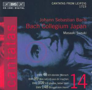 Bach - Cantatas Volume 14 Product Image