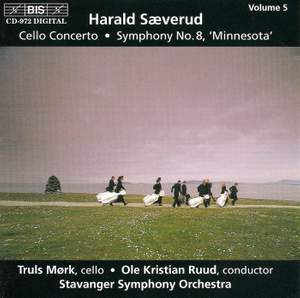 Saeverud: Symphony No. 8 & Cello Concerto