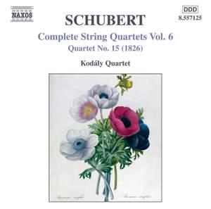 Schubert - Complete String Quartets Volume 6 Product Image