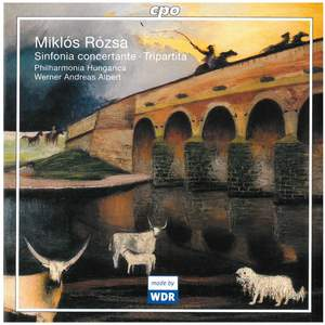 Rozsa: Sinfonia Concertante for Violin, Cello & Orchestra, Op. 29, etc.