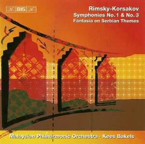 Rimsky Korsakov: Symphonies Nos. 1 & 3 and Fantasia on Serbian Themes
