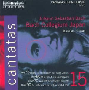 Bach - Cantatas Volume 15