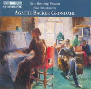 Piano music by Agathe Backer Grøndahl