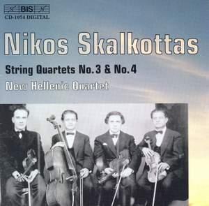 Skalkottas: String Quartets Nos. 3 & 4