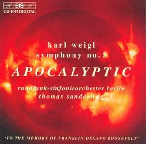 Weigl: Symphony No. 5 & Phantastisches Intermezzo Product Image