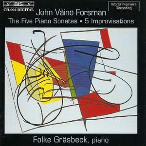 Forsman - Piano Sonatas Product Image