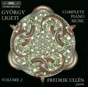Ligeti - The Complete Piano Music, Volume 2