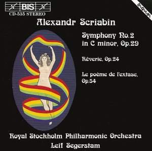Scriabin: Symphony No. 2 in C minor, Op. 29, etc.